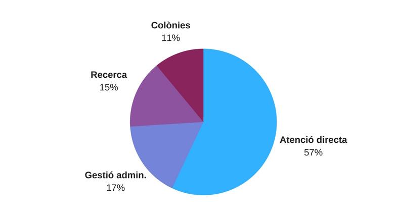 Distribució despeses CorAvant